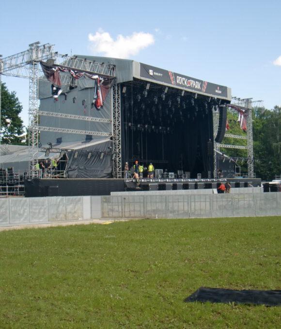 Eine Bühne von Rock im Park