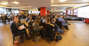 Zuhörer:innen auf der IBIT Fachtagung