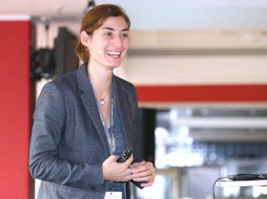 Angelika Kneidl auf der IBIT Fachtagung