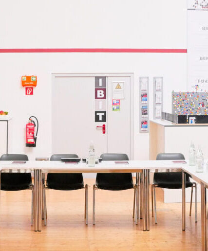 Der Kursraum der IBIT GmbH in Bonn