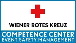 Das Logo vom Wiener Roten Kreuz